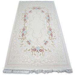 Teppich ACRYL MIRADA 5412 Sahne (Kemik) Franse