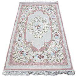 Килим AKRYL MIRADA 5411 рожевий Бахрома