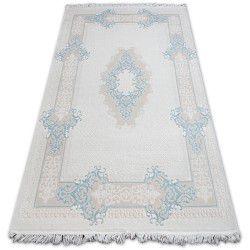 Килим AKRYL MIRADA 5417 синій ( лазуровий ) Бахрома