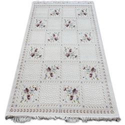 Carpet ACRYLIC MIRADA 5407 Purple ( Murdum ) Fringe