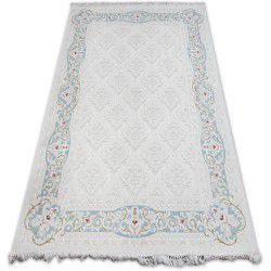 Carpet ACRYLIC MIRADA 5418 Blue ( Mavi ) Fringe