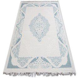 Килим AKRYL MIRADA 5416 синій ( лазуровий ) Бахрома
