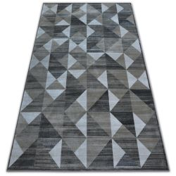 Koberec NOBIS 84196 vision - Trojúhelníky