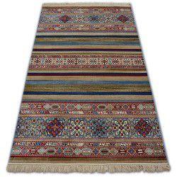Teppich WINDSOR 22890 ETHNIC blau burgund