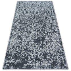 Teppich SENSE Micro 81260 VINTAGE weiß/anthrazit