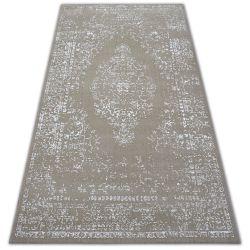 Teppich SENSE Micro 81261 VINTAGE beige/weiß