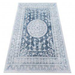 Akril valencia szőnyeg 2328 ORNAMENT kék / elefántcsont