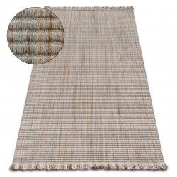 Carpet NATURE 90000 beige fringe SIZAL BOHO