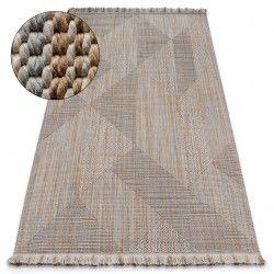 Nature szőnyeg SL110 bézs rojt SIZAL boho