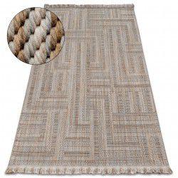 Teppich NATURE SL150 beige franse SIZAL BOHO
