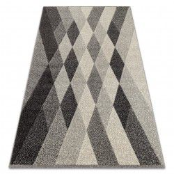 Alfombra FEEL 5674/16811 Diamantes gris/antracita/crema