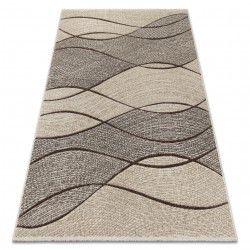 Tappeto FEEL 5675/15033 ONDE marrone / beige / grigio