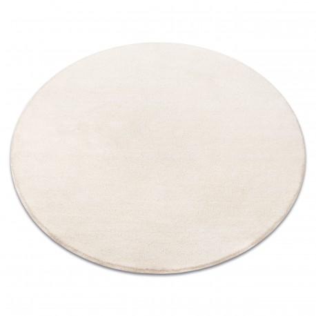 Teppich rund VELVET MICRO creme 031