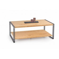 Coffee Table BAVARIA gold / black