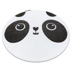 Covor PETIT PANDA cerc alb