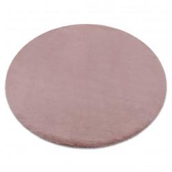 Koberec BUNNY kruh růžový