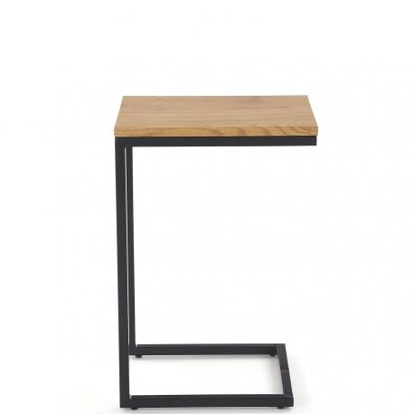 Konferenční stolek NISA zlato / černý