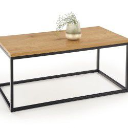Coffee Table ARUBA gold / black