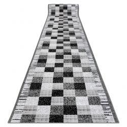 Läufer BCF ANNA Squares 2954 grau Quadrate