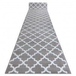 Bcf futó szőnyeg ANNA Clover 2956 szürke Lóhere Marokkói