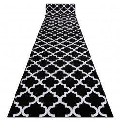 Bcf futó szőnyeg ANNA 2956 fekete Lóhere Marokkói