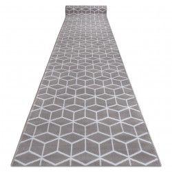 Bcf futó szőnyeg ANNA Cube 2959 szürke kocka hexagon