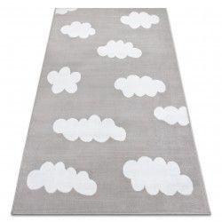 Килим BCF ANNA Clouds 2661 хмари сірий