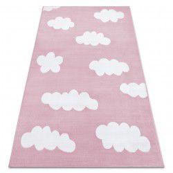 Dywan BCF ANNA Clouds 2661 Chmurki różowy