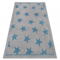 Carpet BCF ANNA Stars 3105 grey / blue