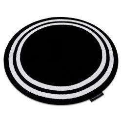 Carpet HAMPTON Frame circle black