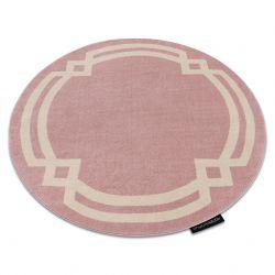 Carpet HAMPTON Lux circle pink