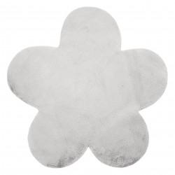 Koberec NEW DOLLY květ G4372-2 stříbrný IMITACE RABBIT FUR