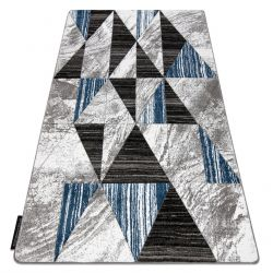 Tapis ALTER Nano triangle bleu