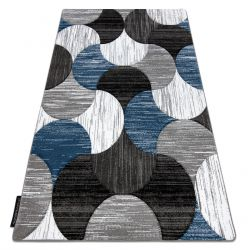 Tapis ALTER Geo coquillages bleu