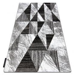 Tappeto ALTER Nano triangoli grigio