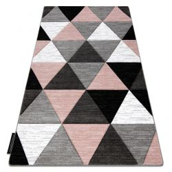 Tapis ALTER Rino triangle rose
