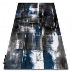 Carpet INTERO ART 3D Abstraction blue