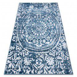 Teppich RETRO HE183 blau / sahne Vintage