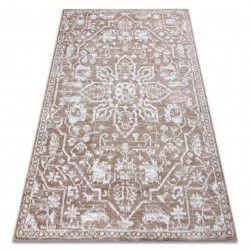 Carpet RETRO HE184 beige / white Vintage