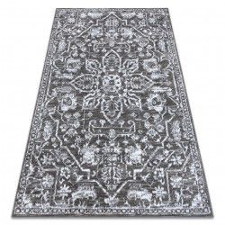Carpet RETRO HE184 grey / cream Vintage