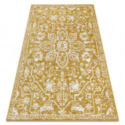 Carpet RETRO HE184 gold / cream Vintage