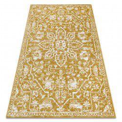 szőnyeg RETRO HE184 arany / krém Vintage