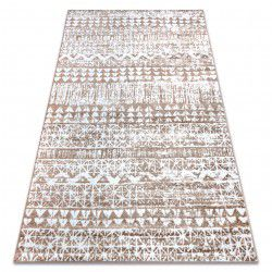 Carpet RETRO HE187 beige / white Vintage