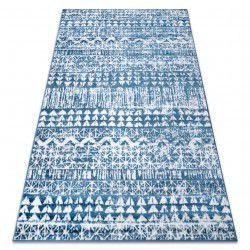 Teppich RETRO HE187 blau / sahne Vintage
