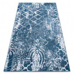 Carpet RETRO HE190 blue / cream Vintage