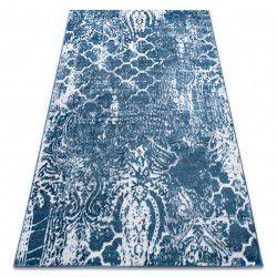 Teppich RETRO HE190 blau / sahne Vintage