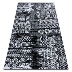 Carpet RETRO HE191 black / cream Vintage