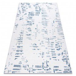 Carpet ACRYLIC DIZAYN 8840 ivory / blue