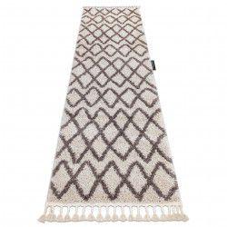 Carpet, Runner BERBER BENI cream - for the kitchen, corridor & hallway
