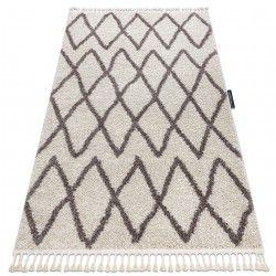 Carpet BERBER BENI cream Fringe Berber Moroccan shaggy